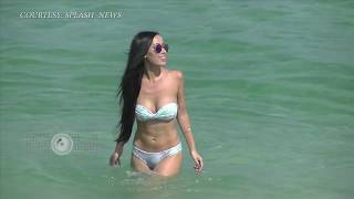 (VIDEO) Lisa Opie Turns Up The Heat On Miami Beach