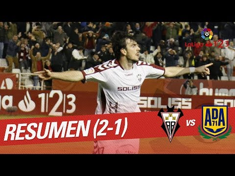 Resumen de Albacete BP vs AD Alcorcón (2-1)