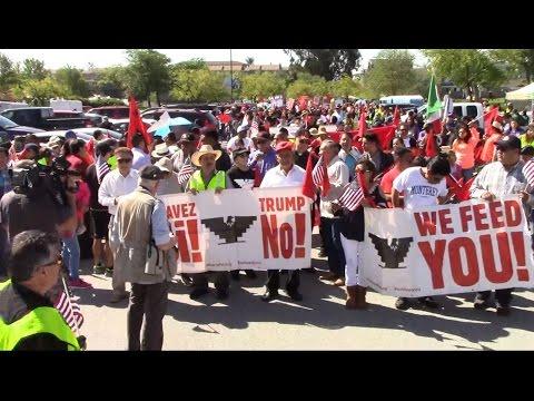 Salinas UFW Cesar Chavez Resist Trump Celebration & March Second Preview