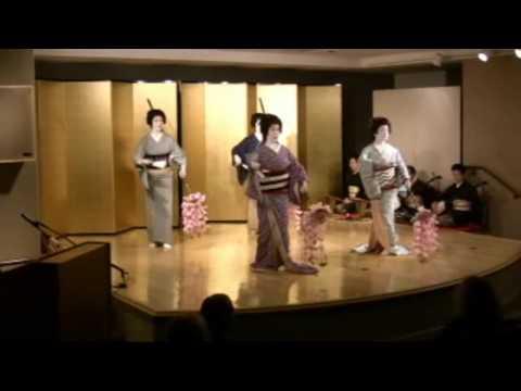 Traditional Japanese Geisha Dance: Part 1