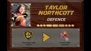 Taylor Northcott - #3 - Shawnigan Lake School - CSSHL Female Prep - Recruitment Video