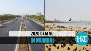 Watch how Mumbai looks amid weekend lockdown: Empty streets, beaches | Covid