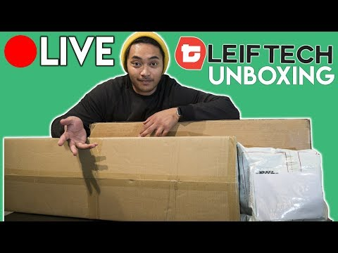 🔴 LIVE Electric SNOWBOARD Unboxing: Leiftech V2 (& More)