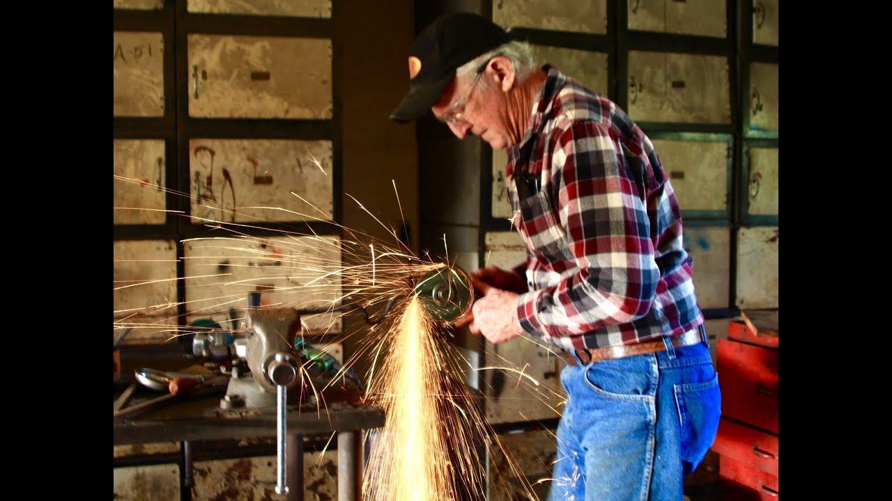 Blacksmithing tools at Red Pig Garden Tools - YouTube