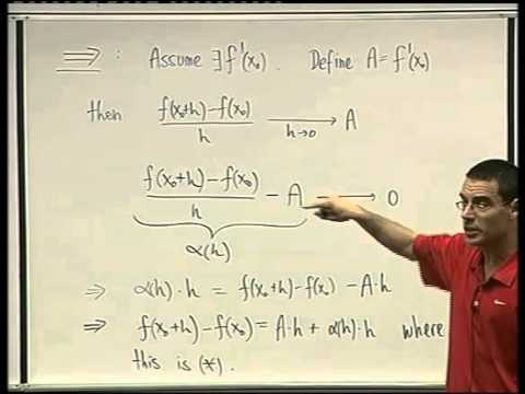 34 - Differentiability