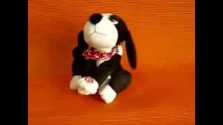 74059 собака черно белая  www kars ru