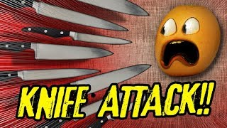 Annoying Orange - Knife ATTACK!!! (Supercut)