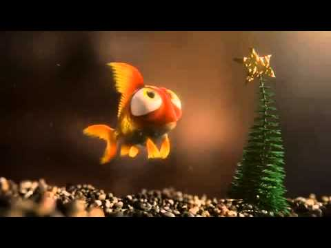 merry christmas fish rudolph funny youtube. Black Bedroom Furniture Sets. Home Design Ideas