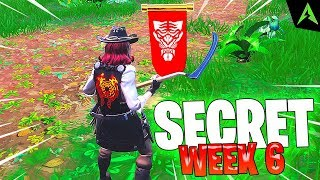 The Secret Banner * WEEK 6 * Season 8 in Fortnite..