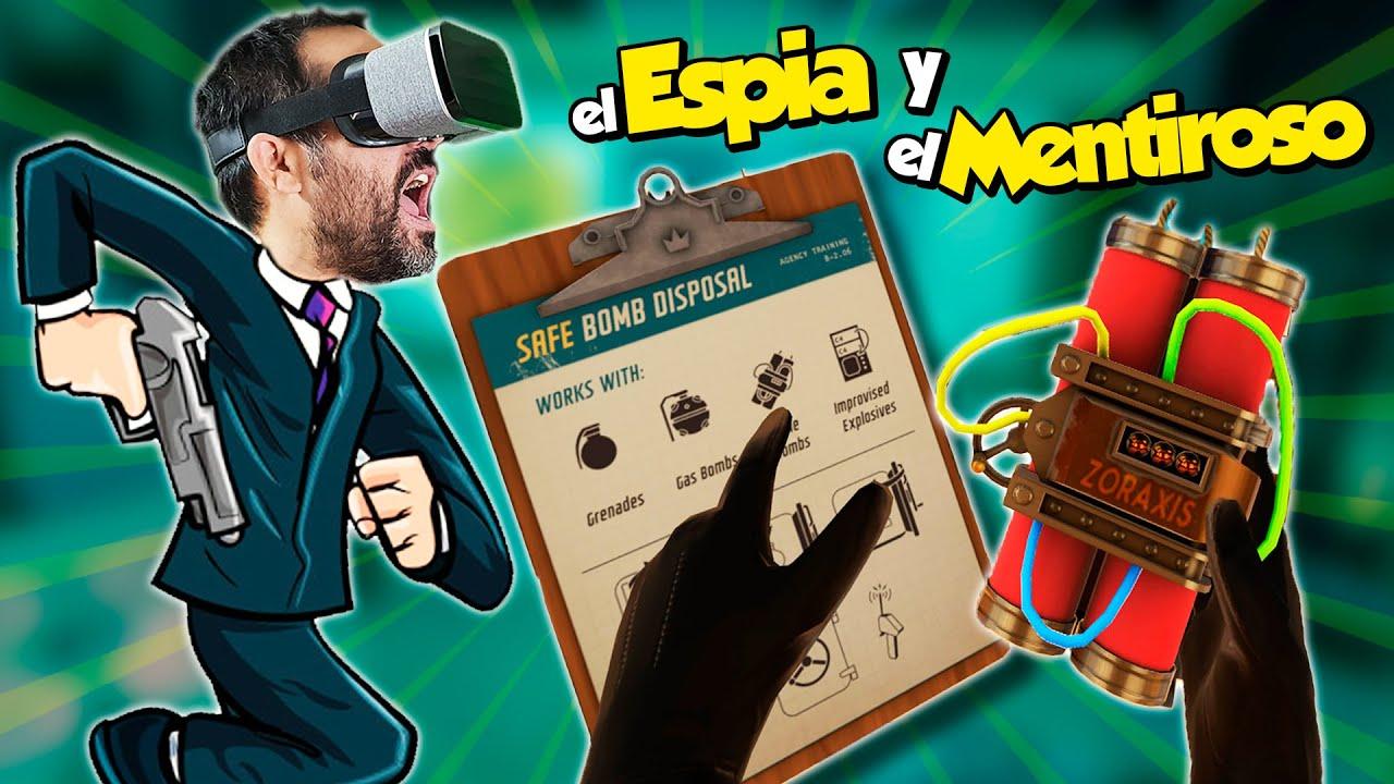 El Espía y el Mentiroso | I Expect you to Die 2 (Escape Room en Realidad Virtual)