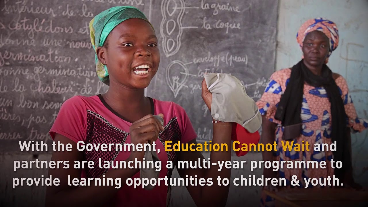Education Cannot Wait and partners invest in education in Chad