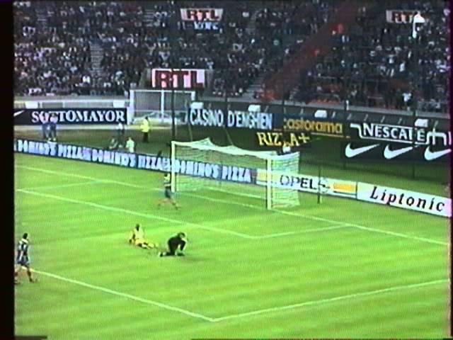 Résumé Paris SG - FC Nantes 1996-97