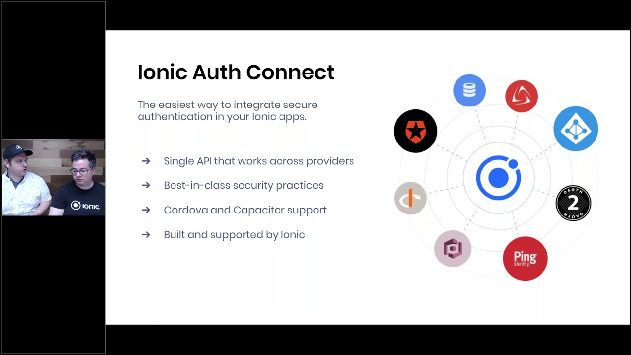 Ionic Auth Connect: Single Sign-on Made Easy - YouTube