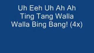 Witch Doctor - Ooh Eeh Ooh Ah Aah Ting Tang Walla Walla Bing (Lyric)