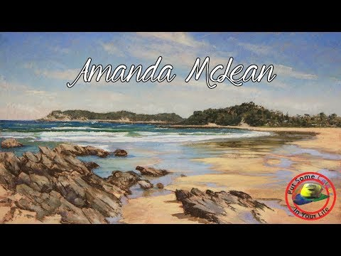 Fine Art Tips with Amanda McLean on Colour In Your Life