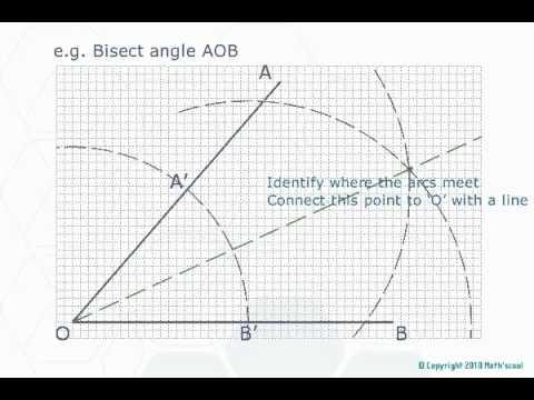 GCSE Maths :|: Constructions and Loci :|: Web Lesson #40