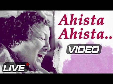 Ahista Ahista by Nusrat Fateh Ali Khan | Pakistani Sad Song | Top Sufi Songs | Musical Maestros
