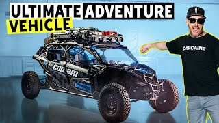 The Ultimate Adventure Vehicle: Ken Block's 2021 Can-Am Maverick Overland Rig