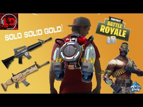 SOLO SOLID GOLD AND MR. T! | Fortnite RANKED TOP 100 Season 4 PS4 Solos | 890+ Wins & 12.2K+ Kills