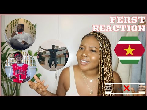 FIRST REACTION TO SURINAME RAP/HIP HOP !!😅🇸🇷🤭