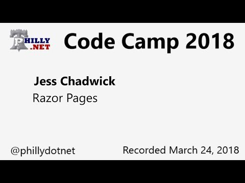Code Camp 2018 - Introduction to Razor Pages - YouTube