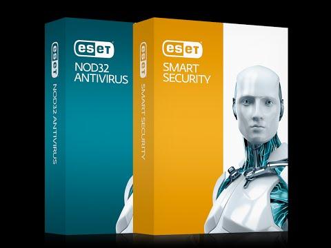 النسخة الأخيرة من ESET Nod32 & Smart Security 8 مع سريال صالح إلى غاية 2017