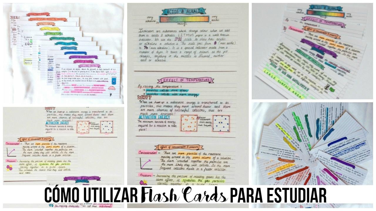 Como Estudiar Con Flash Cards  Beatriz Lavega  Youtube