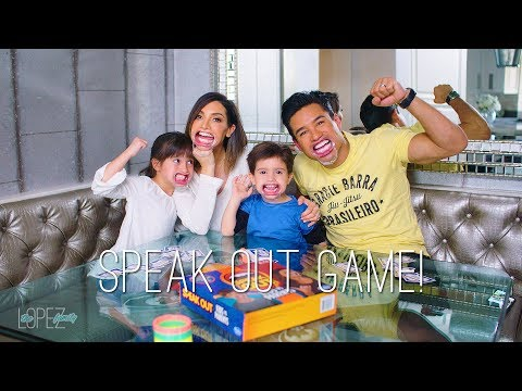 Speak Out Game: The Lopez Family Try it Out!