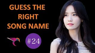 Kpop Guessing Game #24 | Guess The Right Song Name