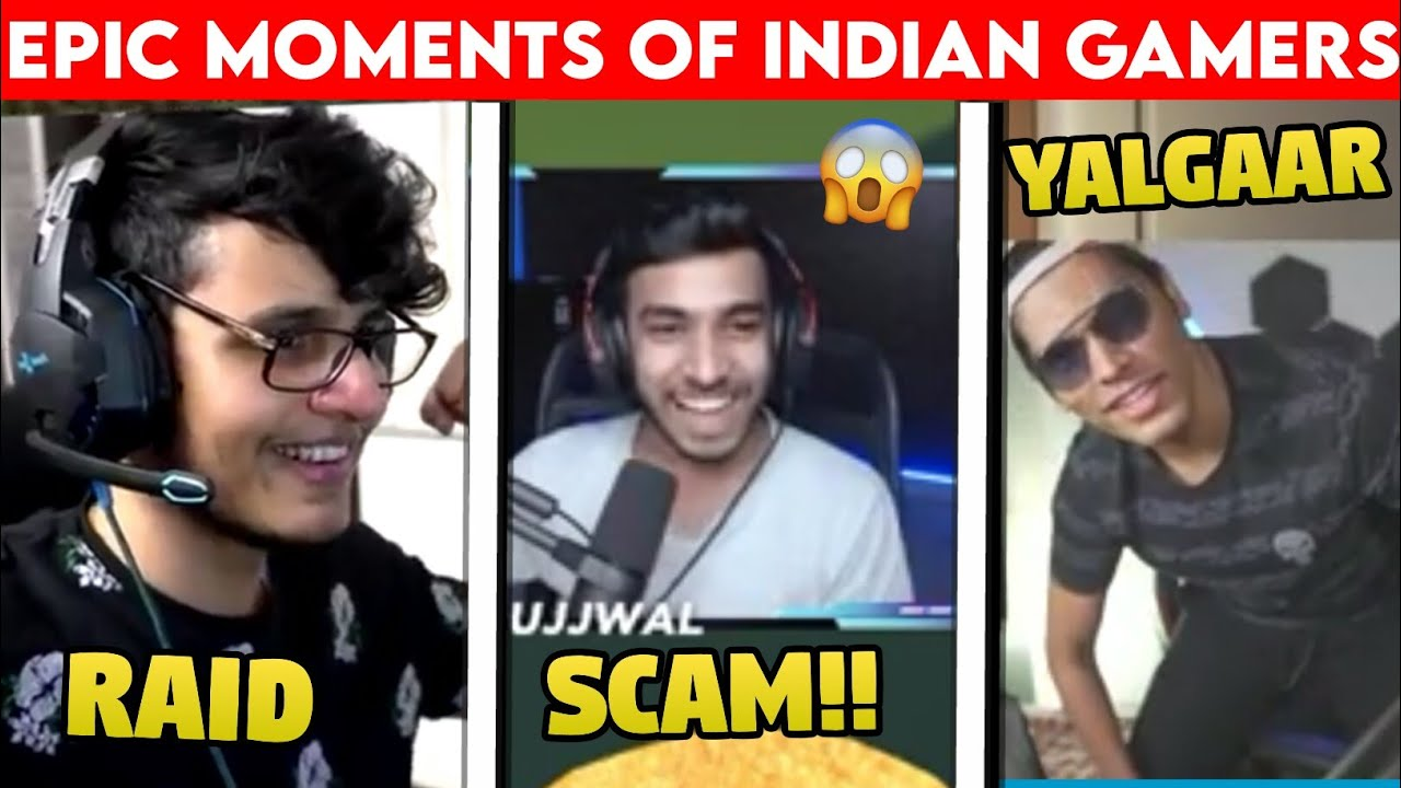 Epic Moments Of Biggest Indian Gamers | Techno Gamerz | Battle Factor