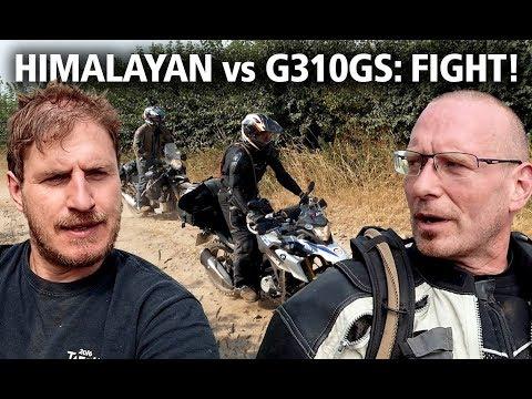 BMW G310GS vs Royal Enfield Himalayan   Best budget adventure bike review