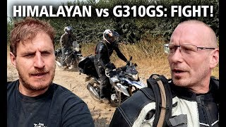 BMW G310GS vs Royal Enfield Himalayan | Best budget adventure bike review