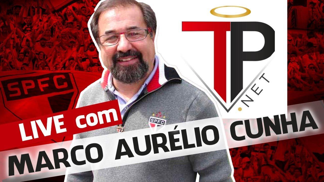 Live com Marco Aurélio Cunha