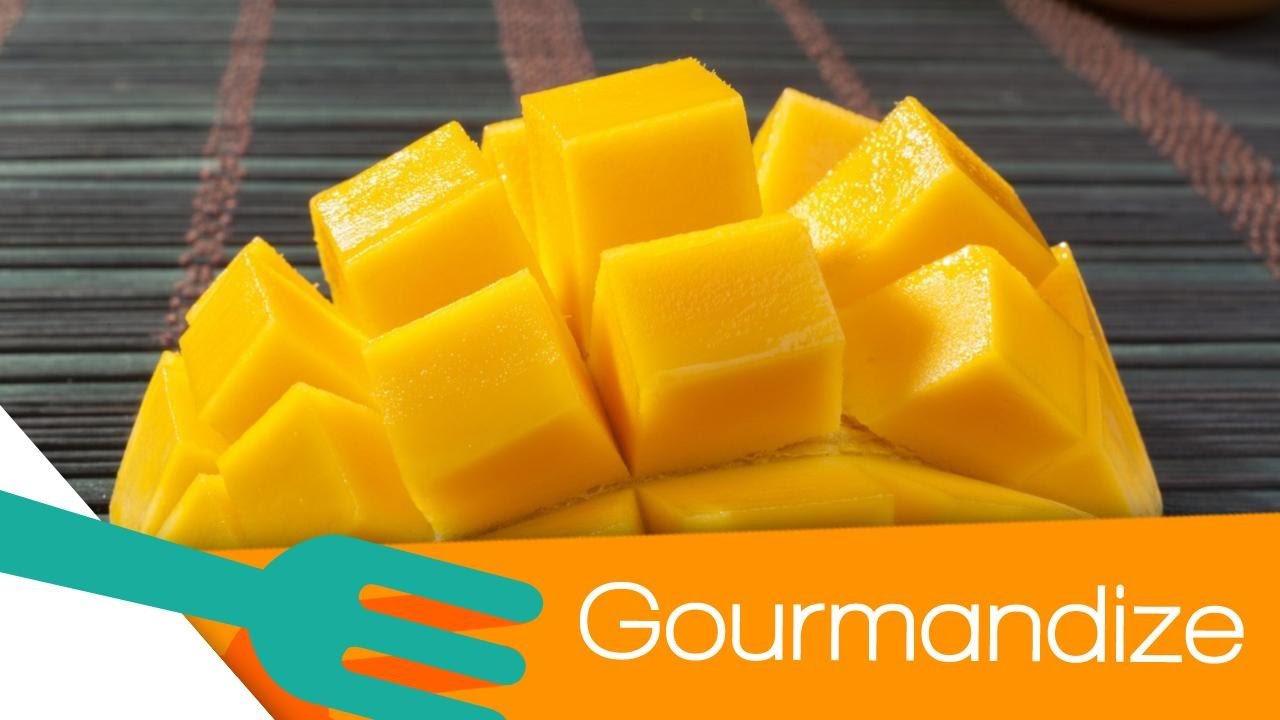 How To Cut A Mango Hedgehog Style  Gourmandize