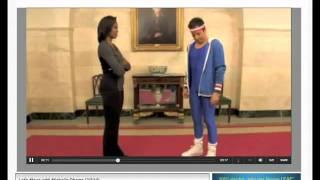 Мишель Обама на шоу Джимми Фэллон