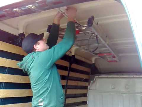 Weather Gaurd Interior Ladder Storage Youtube
