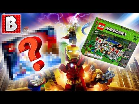 Lego Star Wars Advent Calendar SPOILERS!!! + Marvel 2017 Set Rumors & Minecraft Fortress Closer Look - 동영상