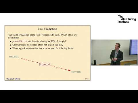 End-to-End Differentiable Proving: Tim Rocktäschel, University of Oxford