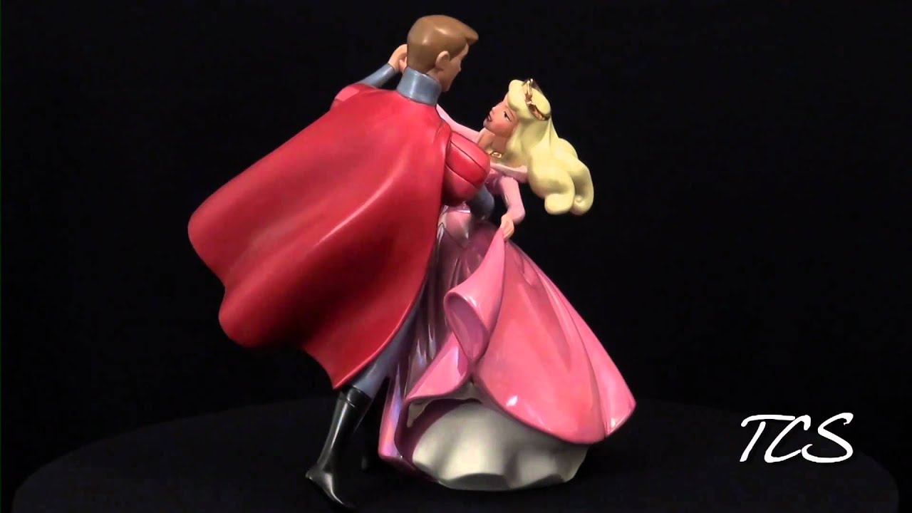 Wdcc Sleeping Beauty Princess Aurora And Prince Phillip A