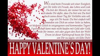 Valentinstag Grußkarte An Die Besten Freunde