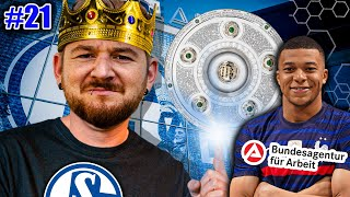 SCHALKES MEISTERTRAINER !🏅 MBAPPE VEREINSLOS !😳 Schalke 04 KARRIERE #21 EA SPORTS Fussball Manager