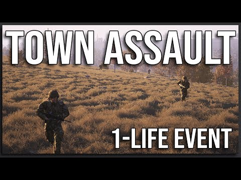 Small Town Assault - 40v40 Squad Gameplay (1-Life Event)