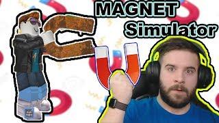 SIMULATEUR D'AIMANT ? IL Y EN A ? 🧲 #1 Roblox Magnet Simulator
