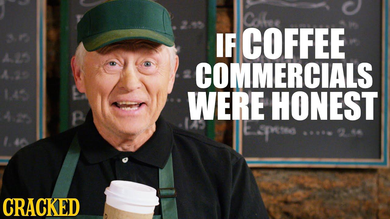 Download If Coffee Commercials Were Honest - Honest Ads (Starbucks, Coffee Bean, Folgers Parody)