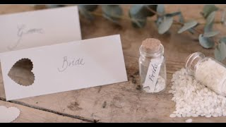 Diy - Place Cards And Table Setting