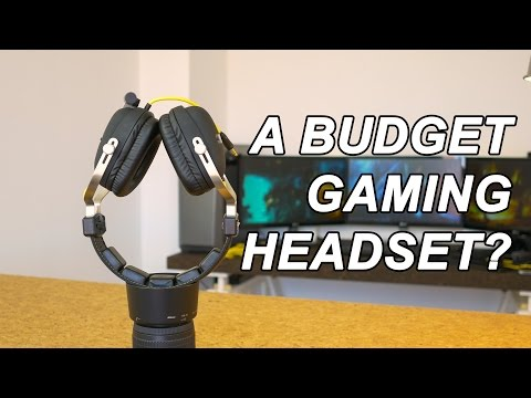 Sharkoon H30 gaming headset review with mic sample