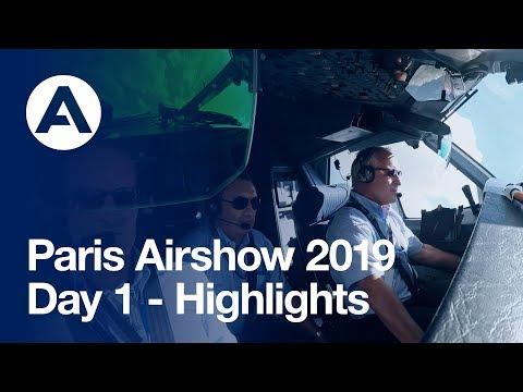 Paris Airshow 2019: Day 1 - Highlights