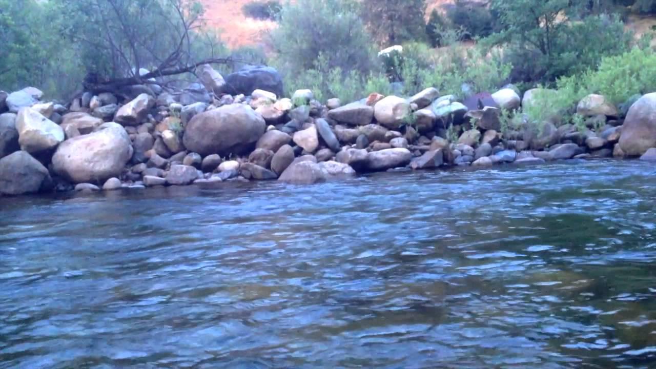 Tenkara fly fishing in the merced river yosemite youtube for Fishing in yosemite