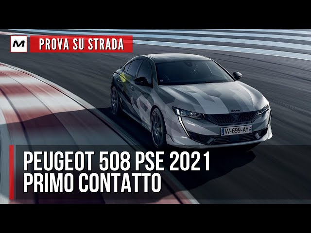 Peugeot 508 Sport Engineered 2021| PROVA SU STRADA della GT ibrida Plug-in