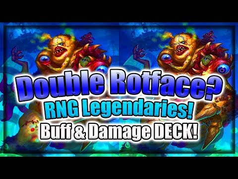 Double Rotface Fun 🍀🎲 ~ Knights of the Frozen Throne Expansion ~ Hearthstone